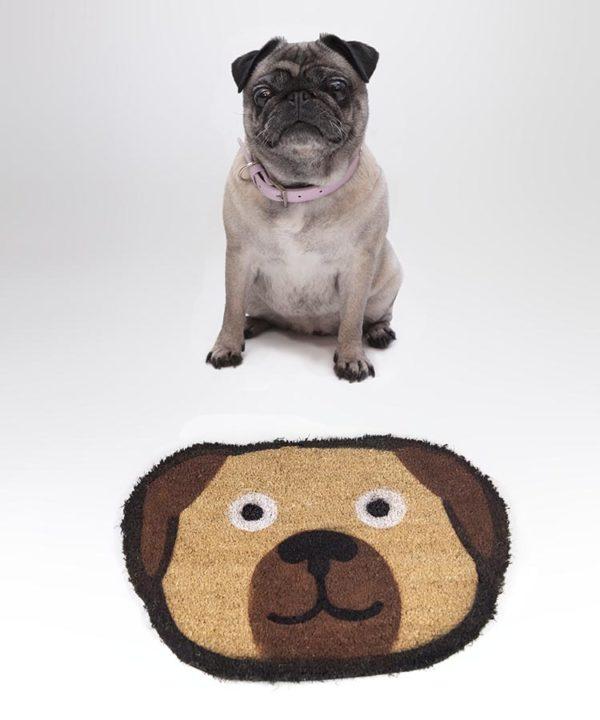 Felpudo Pug