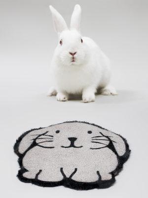 Felpudo Conejo Con Conejo