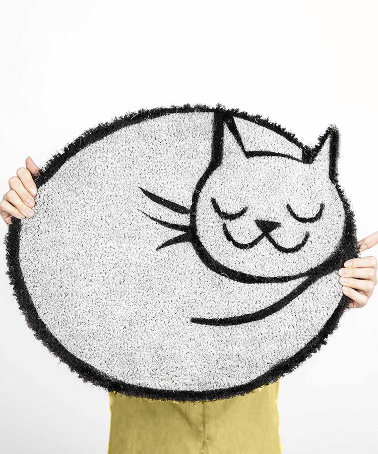 Felpudo Gato Dormido